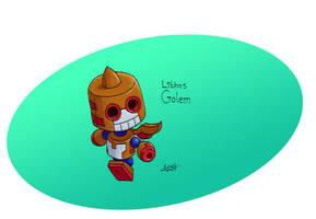 Lithos Golem, Terracotta Trotter by CyberMaroon