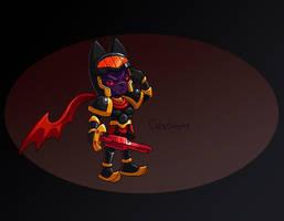 Catastrophe, Prince of Demons by CyberMaroon