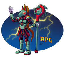 Mechanical Knight, RPG by CyberMaroon