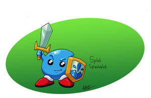 Splot Splashalot, Hydro Hero by CyberMaroon