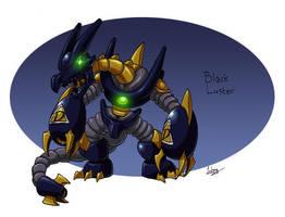 Mechanical Doombringer, Black Luster by CyberMaroon