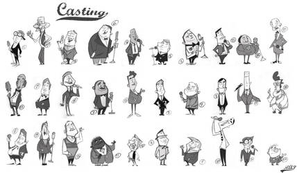 casting by jaune-canari