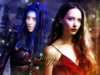 Illyria and Fred by TheFaithLehane