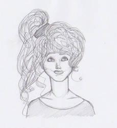 Girl by sabzlovingart127