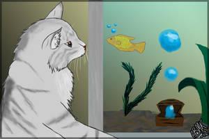 Mini Panini and tha Fish by DarkSunshine92