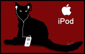 iPod Cat Roy by DarkSunshine92