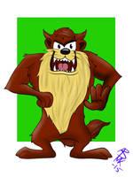 The Tasmanian Devil by DarkSunshine92