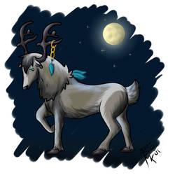 Random Reindeer by DarkSunshine92
