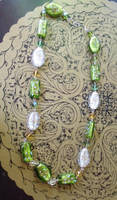 Green Necklace by Valley-of-Egeria