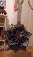 Blue and Silver Kusudama by Valley-of-Egeria