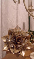 Gold and Silver Kusudama by Valley-of-Egeria