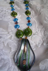 Colorful Earth Necklace by Valley-of-Egeria