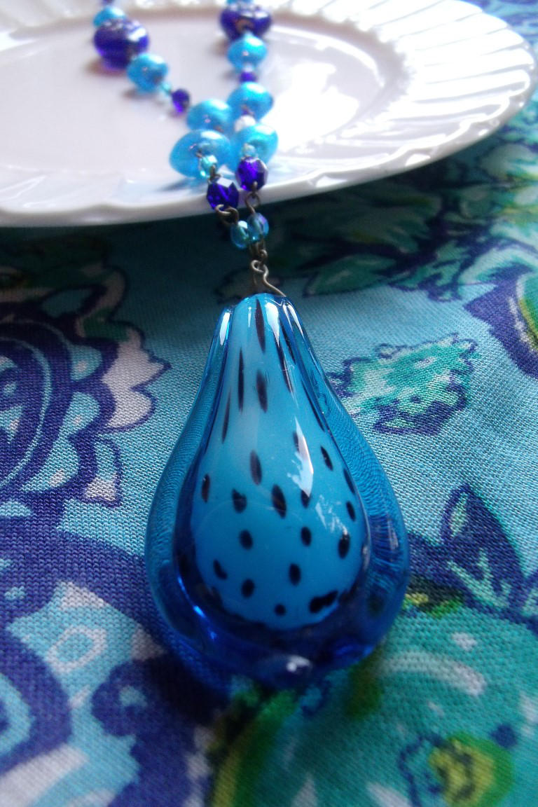 Peacock Necklace  1 by Valley-of-Egeria