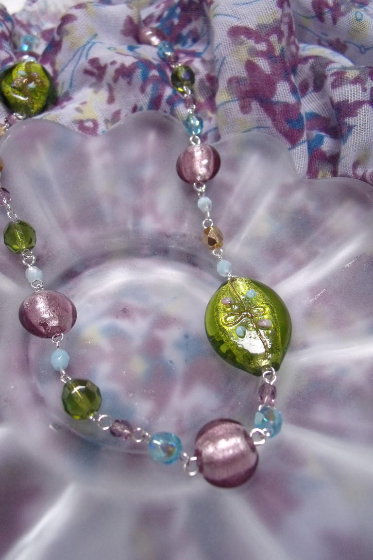 Playful Spring Necklace by Valley-of-Egeria