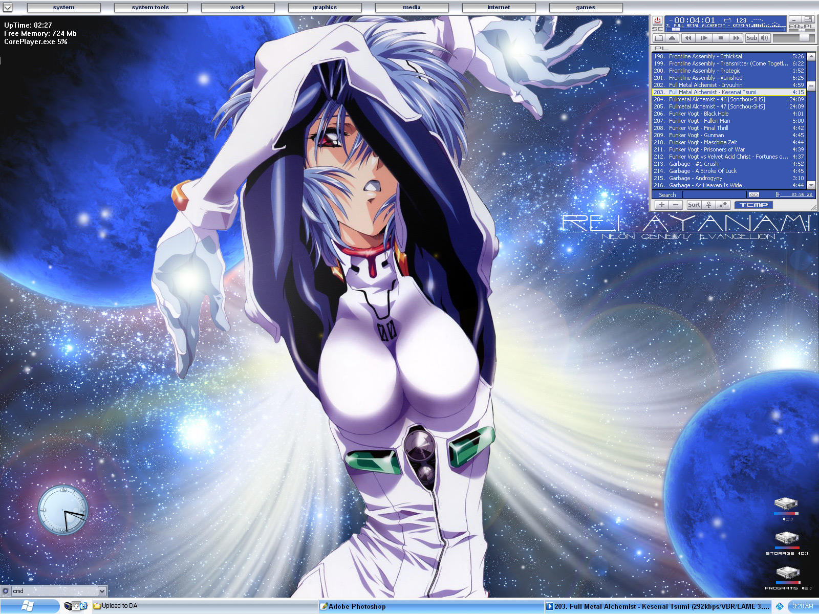My Desktop - 9.11.2004 by Drakx