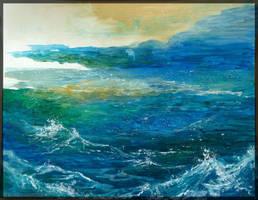 Les montagnes de l'ocean by Embrymandre