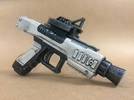 First Order blaster pistol by VimFuego2000