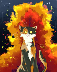 Fire alone can save our Clan... by ShellyKeyArtwork
