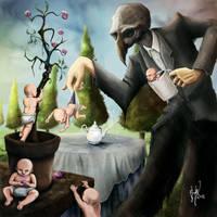 Tea Party by AmokDreams