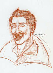 Cheeky Dorian by ayamasa-eu