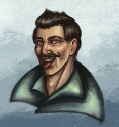 Cheeky Dorian c by ayamasa-eu