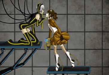 steampunk+cyberpunk by iluxare