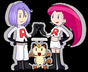 Team Rocket Time by Abie05