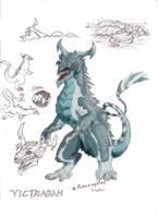 Godzilla CTTM: Victragan by SeanSumagaysay