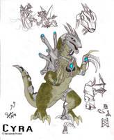 Godzilla CTTM: Cyra by SeanSumagaysay