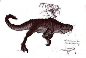 Mortissaurus Rex Colored by SeanSumagaysay