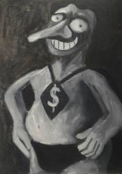 I'm Justice, oil on canvas by Jacklicheukman
