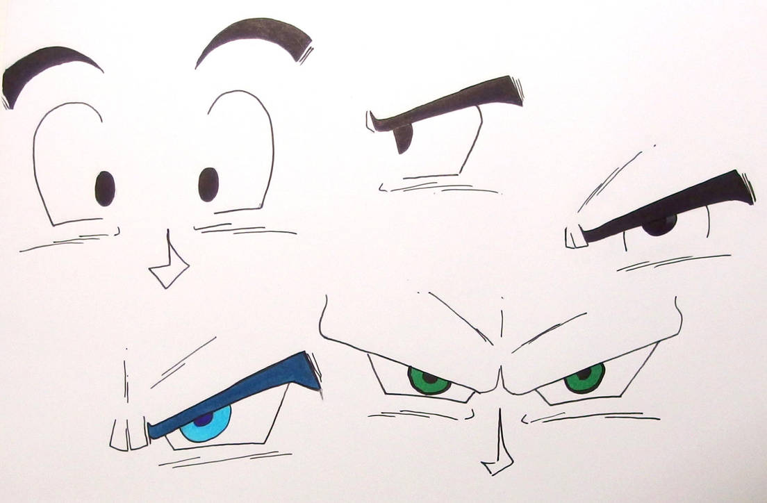 Goku S Eyes Dragon Ball Z By Creazerty On Deviantart
