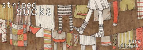 striped socks by saradivjak