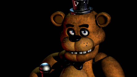 Fnaf 1 Teaser Freddy image Recreation by NathanNiellYT