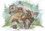 Fanart Friday #17 - Overwatch Schwarzwald by nehsan-darke