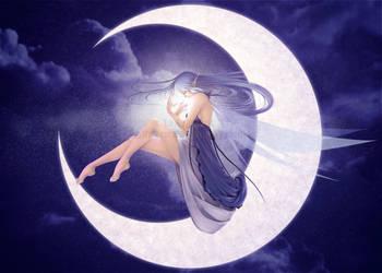 MoonFairy by LadyKaeru
