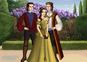 DPF: Belle Family by sasuke12234