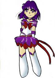 Eternal Sailor Saturn by shadou