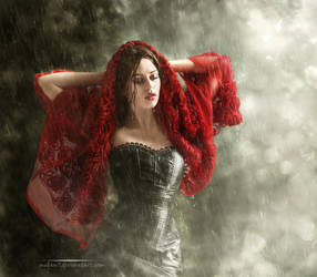 I love rain by Megan-Arts