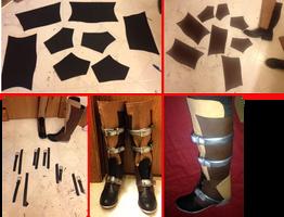 FFXIII Lightning Boots Tutorial by FinalFantasyCosplays