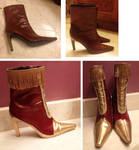 Terra Branford Shoe Tutorial by FinalFantasyCosplays