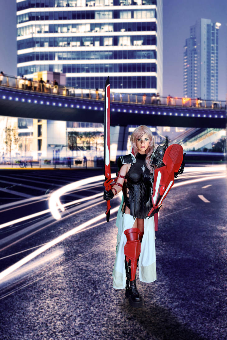 Taking Care of Business by FinalFantasyCosplays