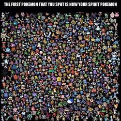 Spirit Pokemon by GlazedUnicorns