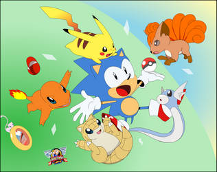 Pokemon Sonic Mania by PhillLord