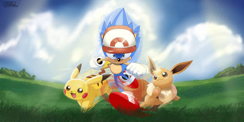 Pokemon Lets Go Sonic by PhillLord