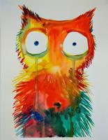 Cute Owl by HedgehogMolly