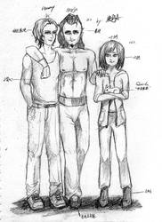 Haway,Marja and Nilvey by MARJAloveHAWAY