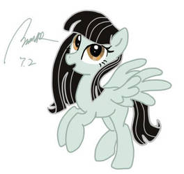 Me as a pony by MARJAloveHAWAY