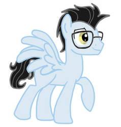 My BF as a pony by MARJAloveHAWAY