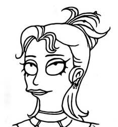 Anne Nurmi-The Simpsons by MARJAloveHAWAY